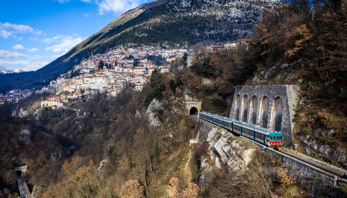 Parte il Treno Mare-Monti, in Abruzzo