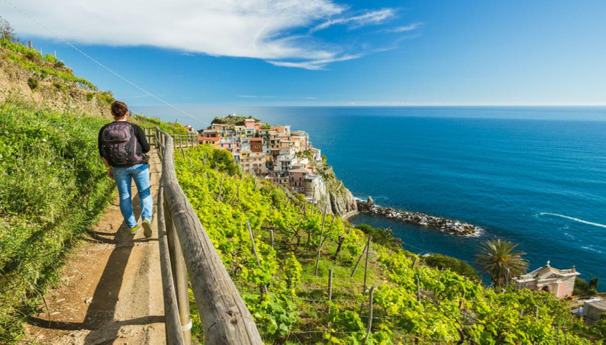 Trekking tra mare e borghi in Liguria