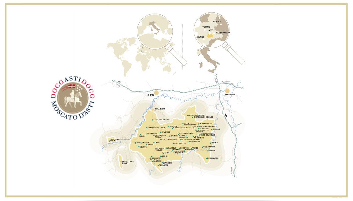 mappa territorio consorzio