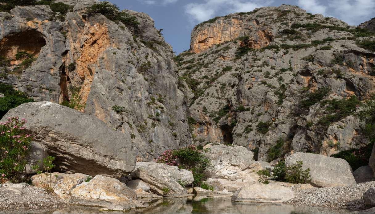 canyon Garropu Sardegna