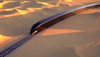 Viaggio a bordo del G-Train, il treno di lusso del futuro