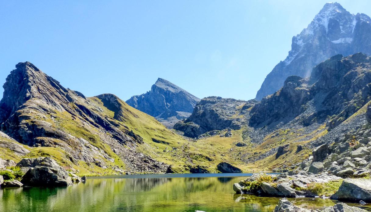 Lago Fiorenza e Monviso