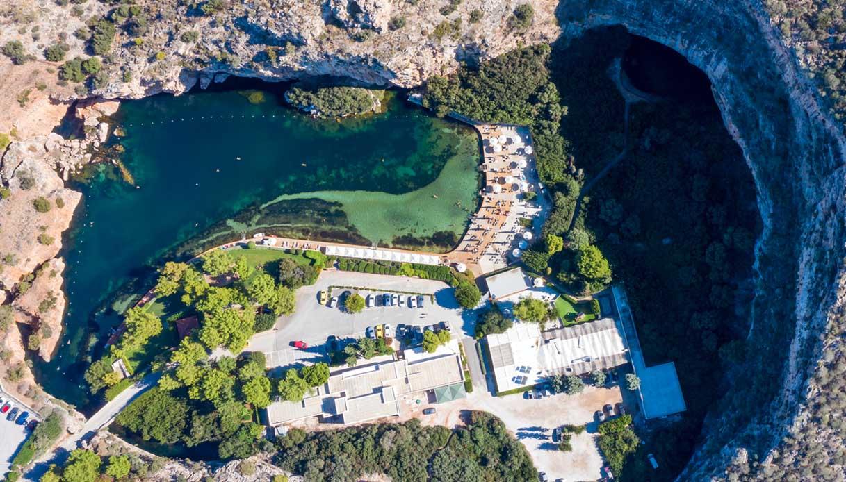 Lago Vouliagmeni, la gemma nascosta Grecia