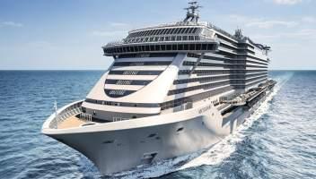 MSC Crociere, la Seashore debutta nel Mediterraneo
