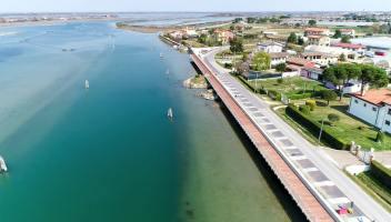 La ciclabile sull'acqua più lunga di tutta Europa