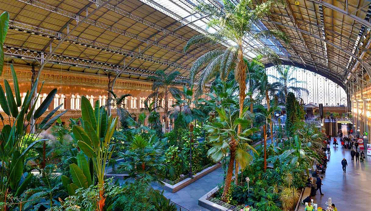 Stazione di Atocha, Madrid