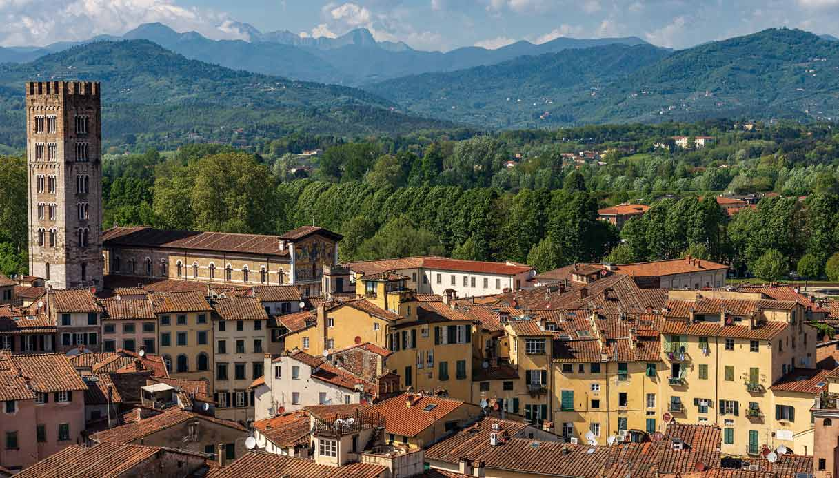 torre di Palazzo Guinigi Lucca