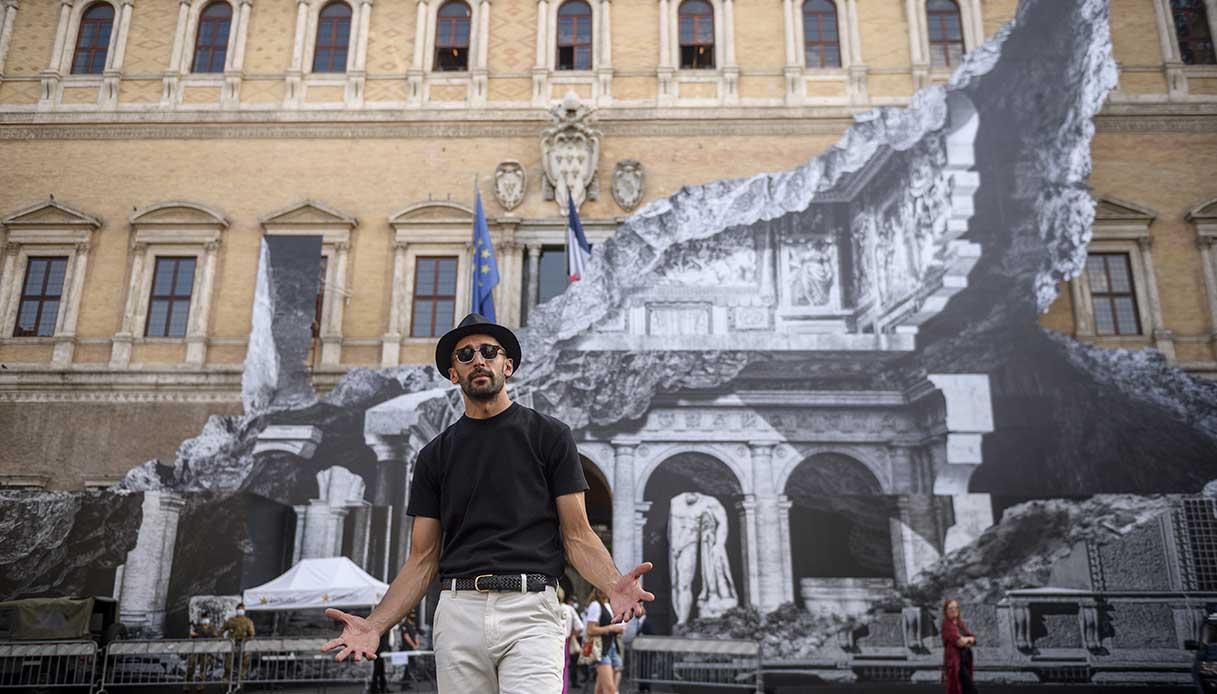 palazzo farnese a roma, opera di Jr
