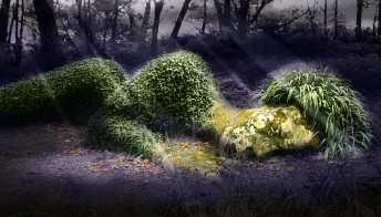 Un giardino fantasy e segreto nel cuore della Cornovaglia
