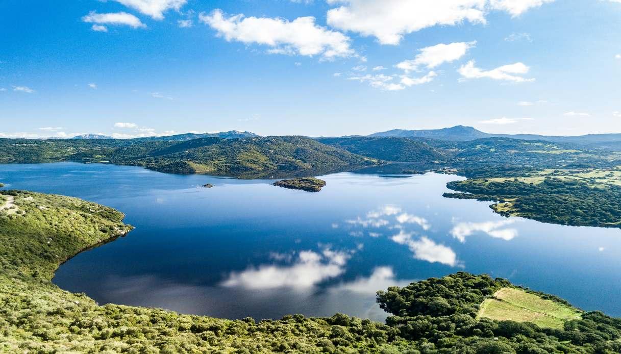 Lago del Liscia sardegna