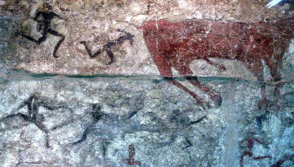 Museo delle Civiltà Anatoliche - dipinto di caccia