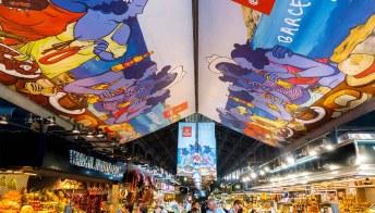 Pittoresca e colorata, La Boqueria a Barcellona è un tripudio di emozioni