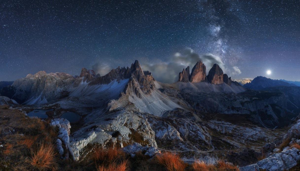 ammirare le stelle cadenti in Italia