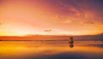 Il tramonto più scenografico d'Italia si trova in Toscana