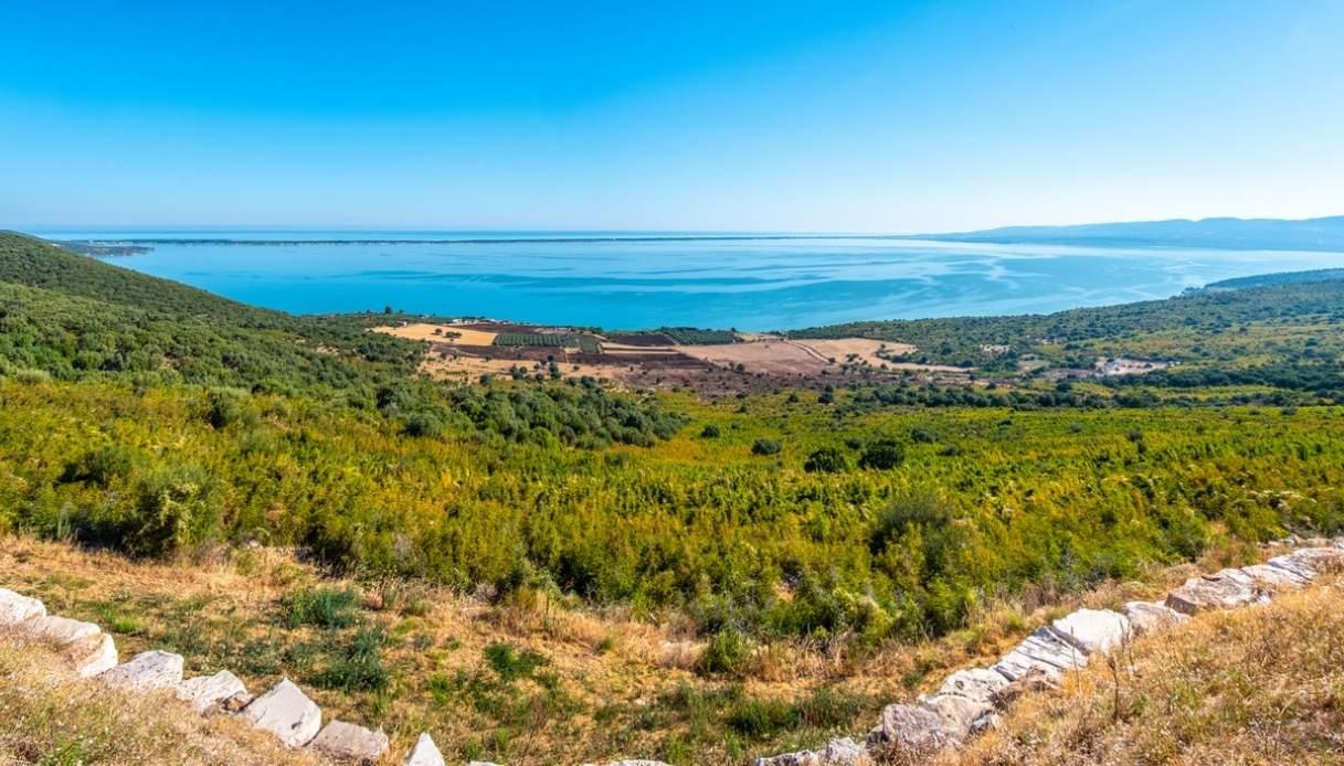 Vista panoramica del Gargano