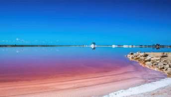Le Saline di Margherita di Savoia, in Puglia, tra le più belle al mondo