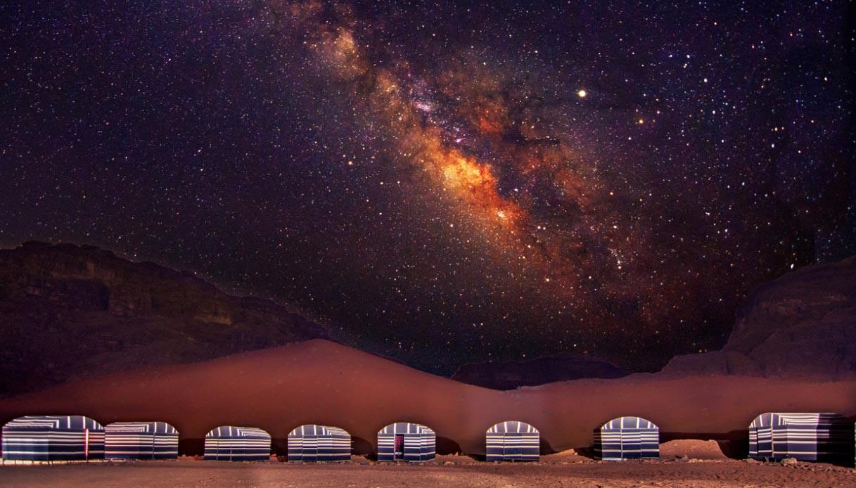 Via Lattea, Wadi Rum