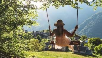 In Svizzera, l'itinerario delle altalene panoramiche