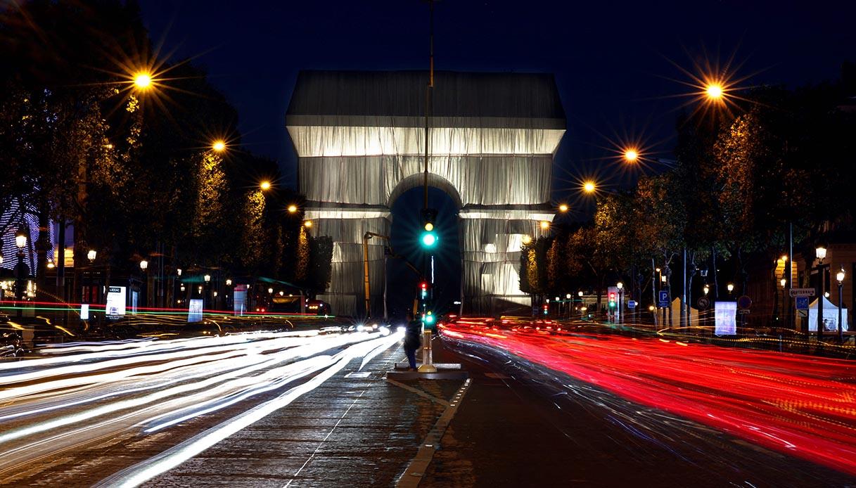 L'Arc de Triomphe, Wrapped, Paris, 1961-2021