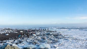 Breiðamerkursandur, la spiaggia di diamanti è in Islanda