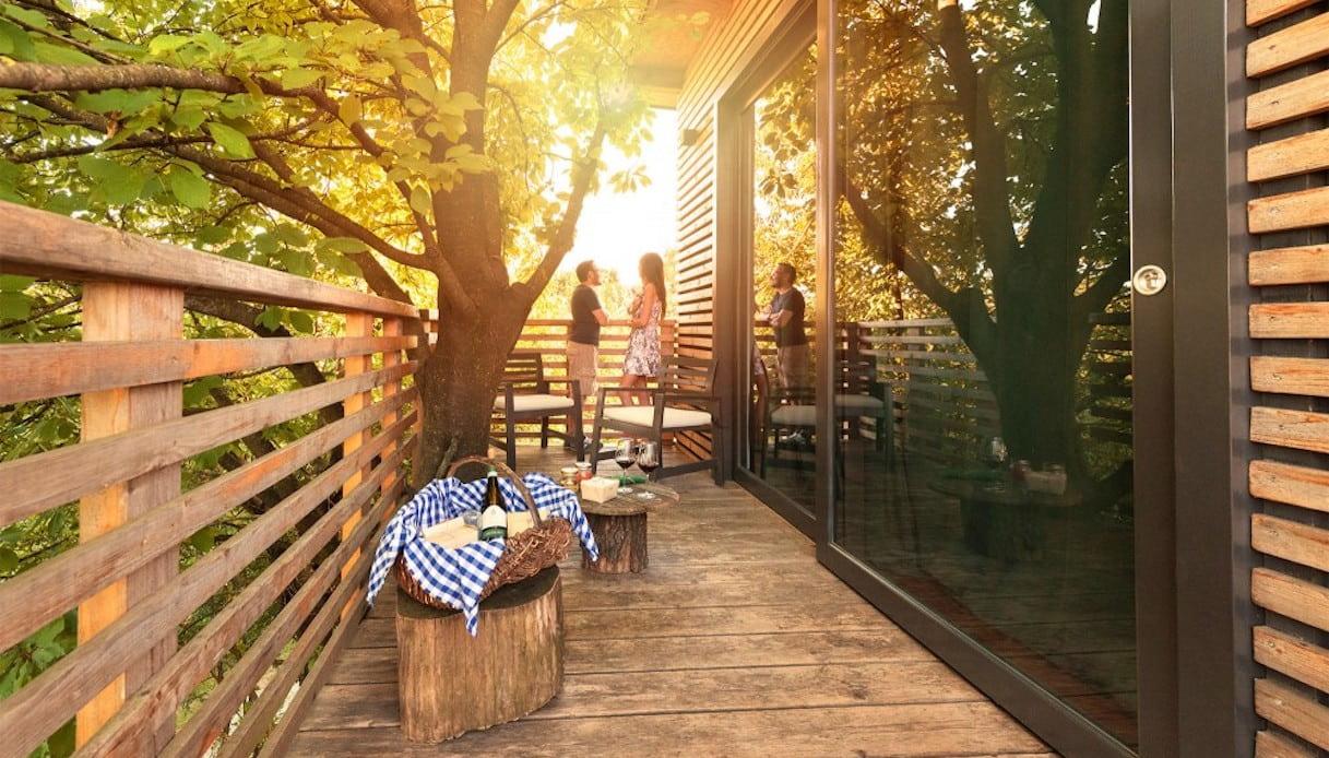 Casa sull'albero nel Monferrato