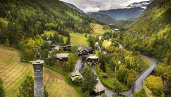 Norvegia, la magia dell'autunno nei rifugi di montagna