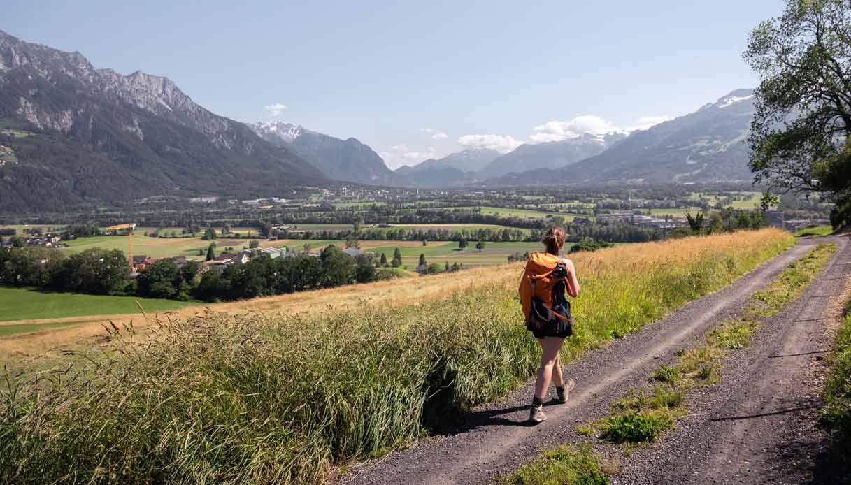 Liechtenstein_Trekking_Rheintal