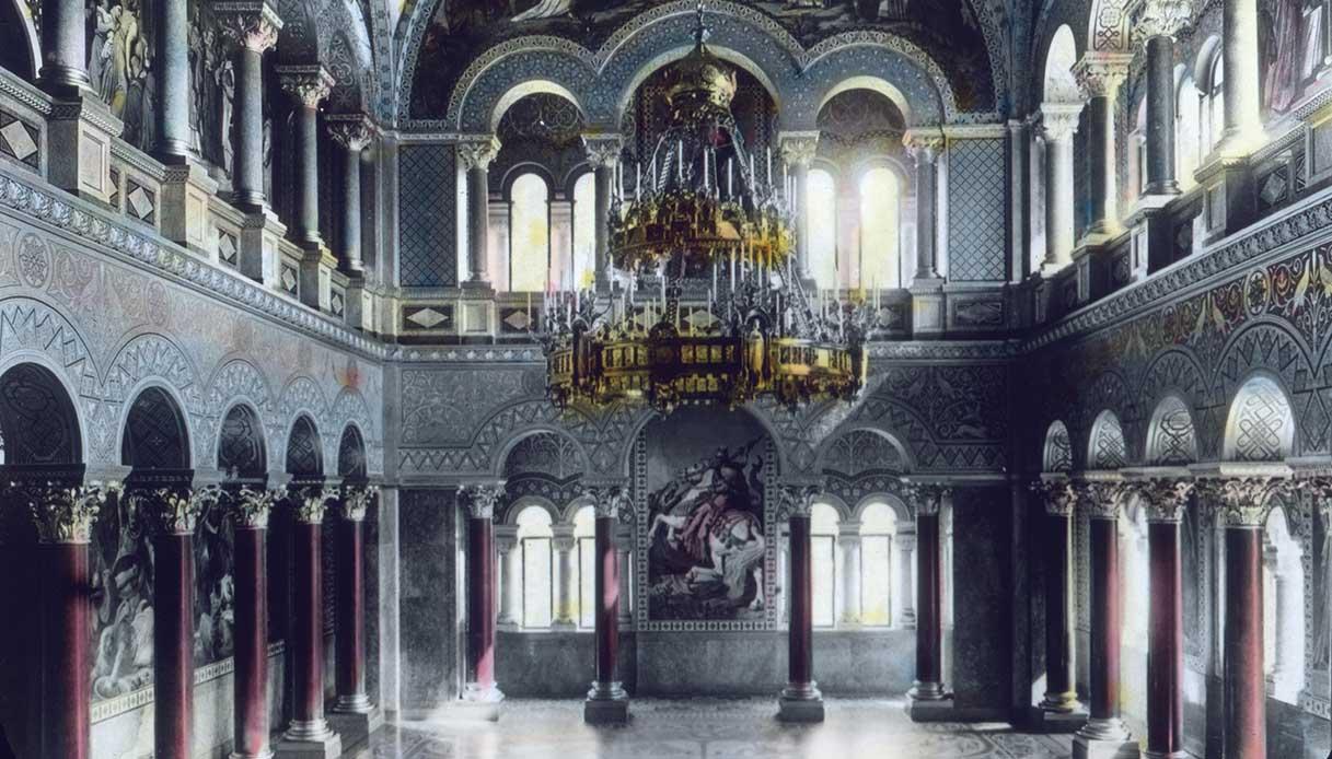 Throne room of King Louis II