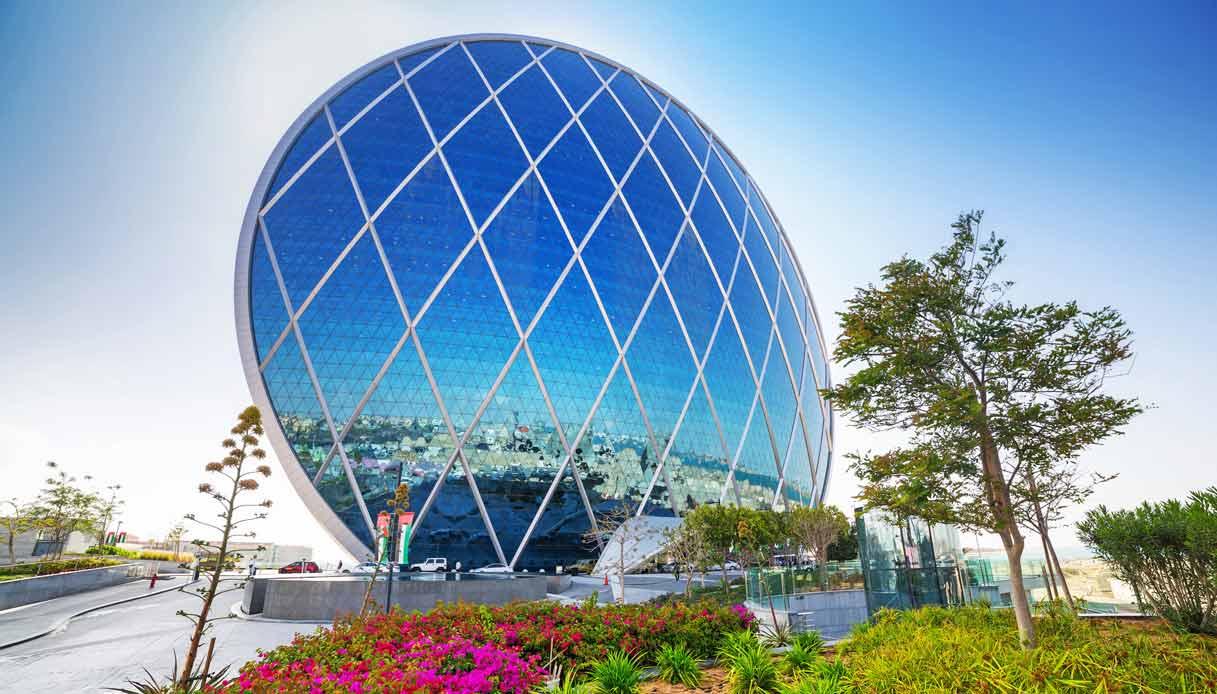 L'Aldar Building di Abu Dhabi