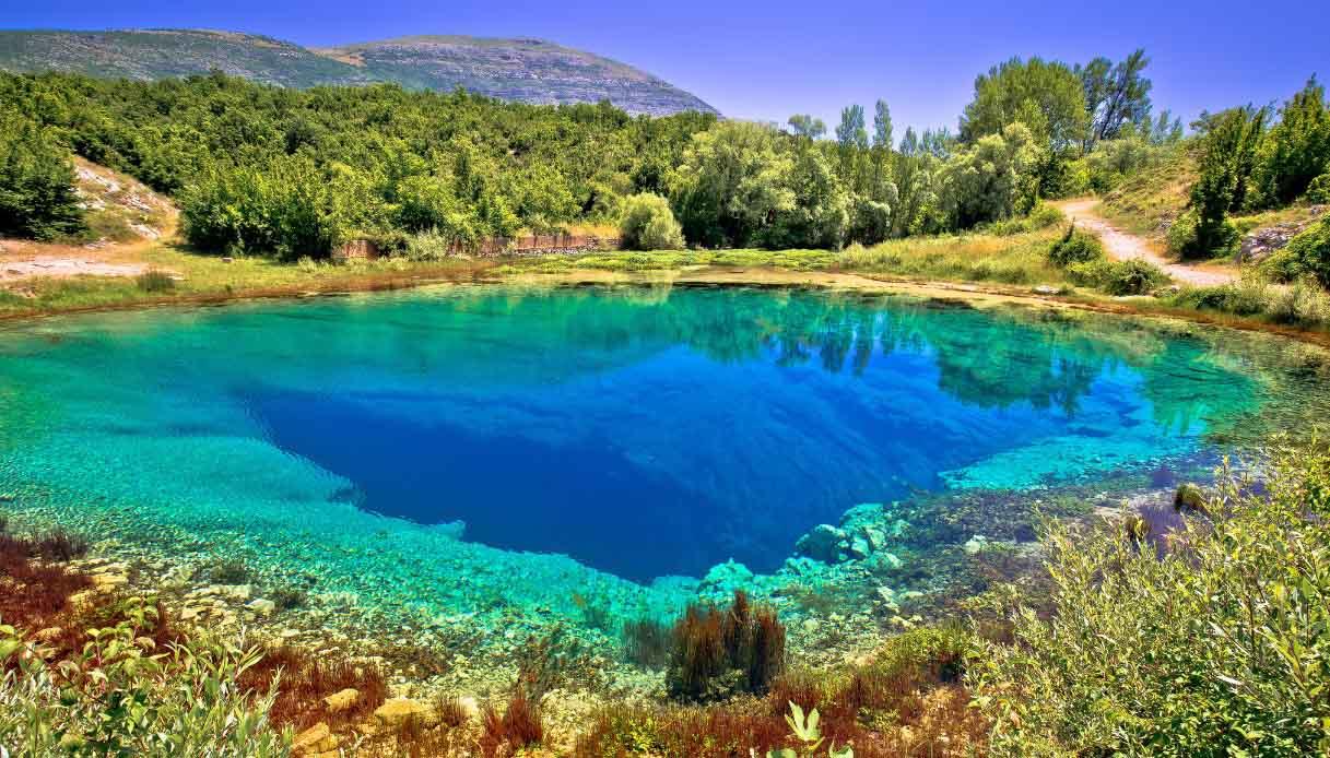 Occhio della Terra, Croazia