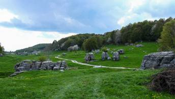 La Lessinia e la Valle delle Sfingi, dove svettano giganti di pietra