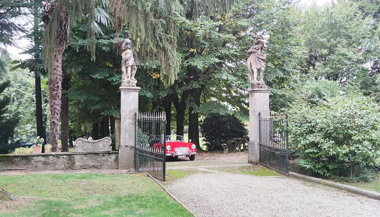 Villa Sormani Marzorati Uva ingresso