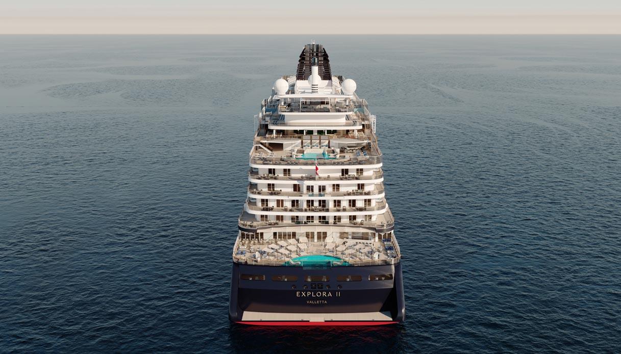 MSC lancia seconda nave lusso Explora II