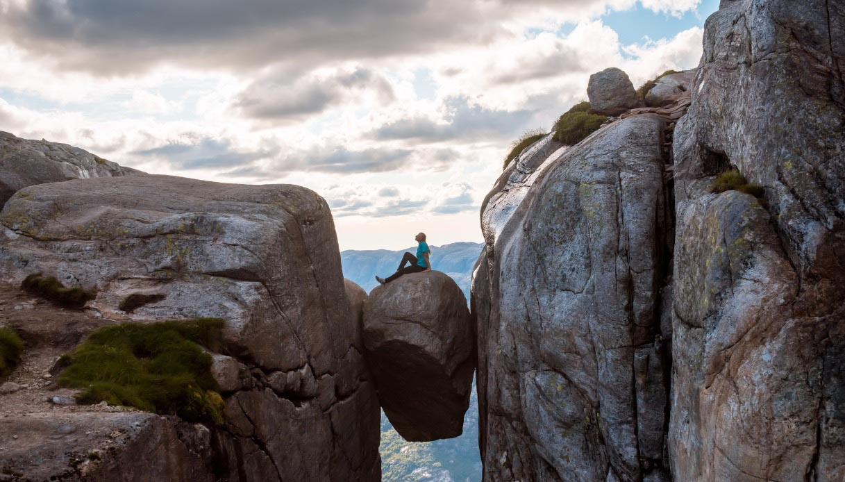Kjeragbolten, Norvegia