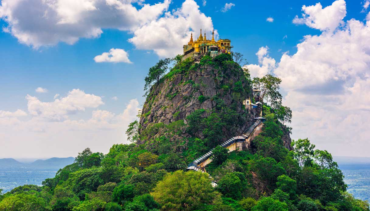 Monastero del Monte Popa, Myanmar