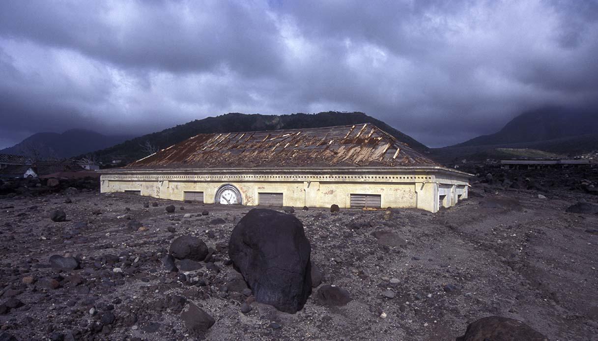 Plymouth, Pompei dei Caraibi