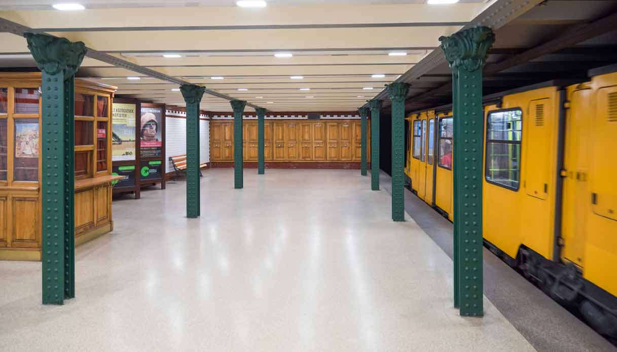 budapest-metro-linea-gialla-storica