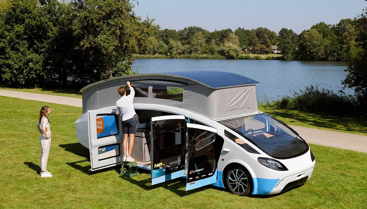 Stella Vita, il primo camper a energia solare