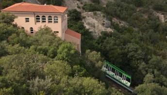 La funicolare con la vista più spettacolare della Catalogna
