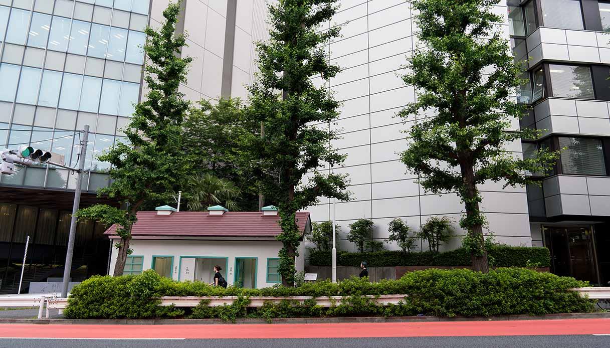 Bagni pubblici a Tokyo disegnati da Nigo